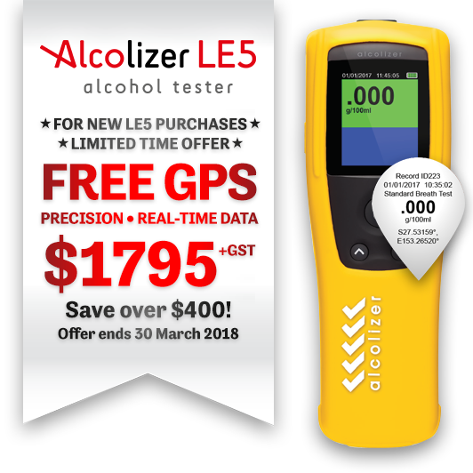 LE5 GPS Special Offer bundle at $1795 plus GST. Save over $400. Offer ends 30 March 2018